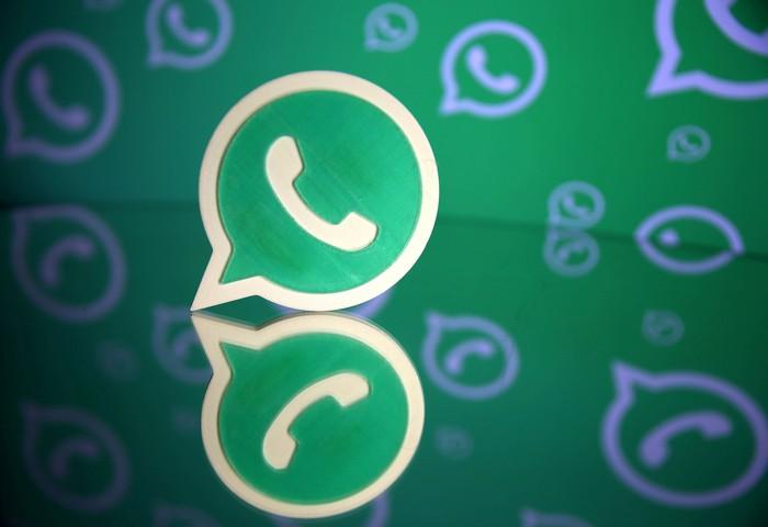 Logo WhatsApp. Foto: Reuters