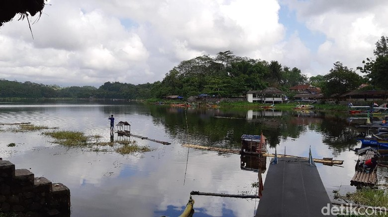 Situ Gede Kota Tasikmalaya (Masaul/detikTravel)