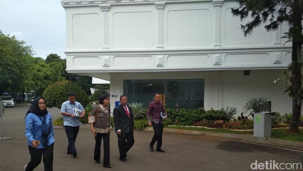 Jokowi Panggil Rini, Basuki, dan Budi Karya, Bahas Apa?