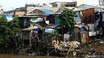 Potret Pemukiman Kumuh di Bantaran Sungai Ciliwung
