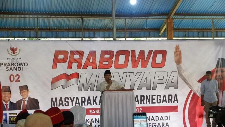 Canda Prabowo, Tangan Orang Banyumasan Keras-keras