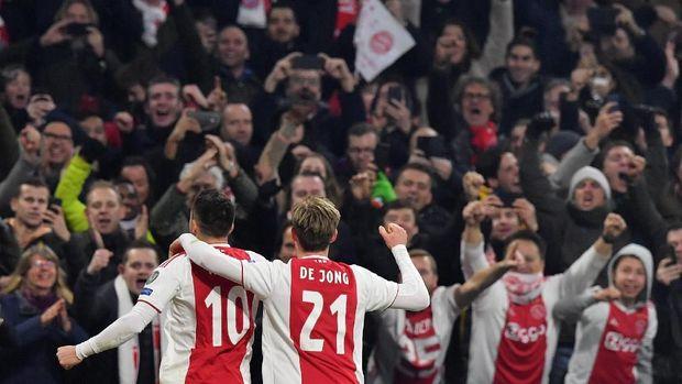 Ajax Amsterdam memiliki potensi mengalahkan Real Madrid. (