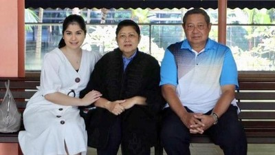 Untaian Doa Annisa Pohan untuk Kesembuhan Ani Yudhoyono