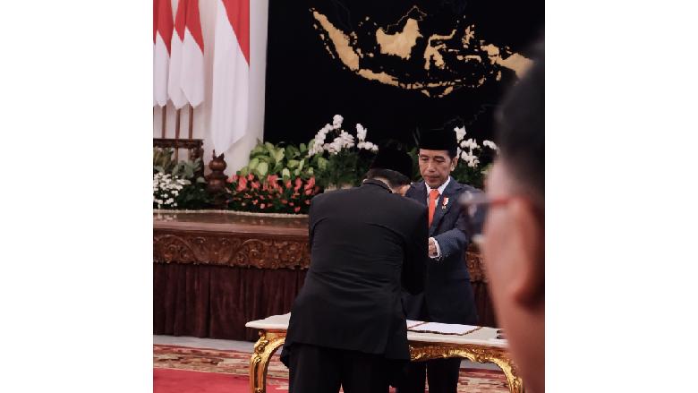 Jokowi Lantik Dubes RI untuk Papua Nugini hingga Korea Utara