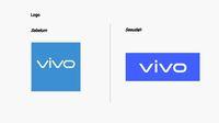 Perbandingan logo Vivo.