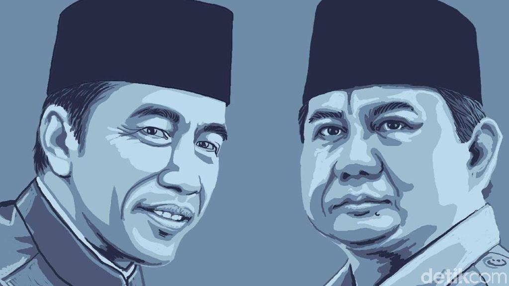 Deretan Amunisi Debat Jokowi vs Prabowo Minggu Besok