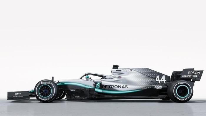 W10 Mobil Baru Mercedes Di F1 2019