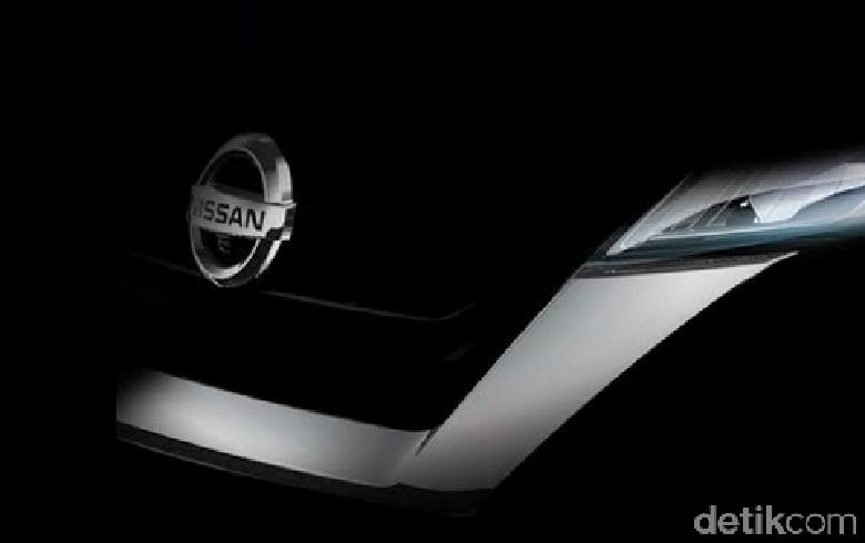 Teaser mobil terbaru Nissan. Foto: Nissan