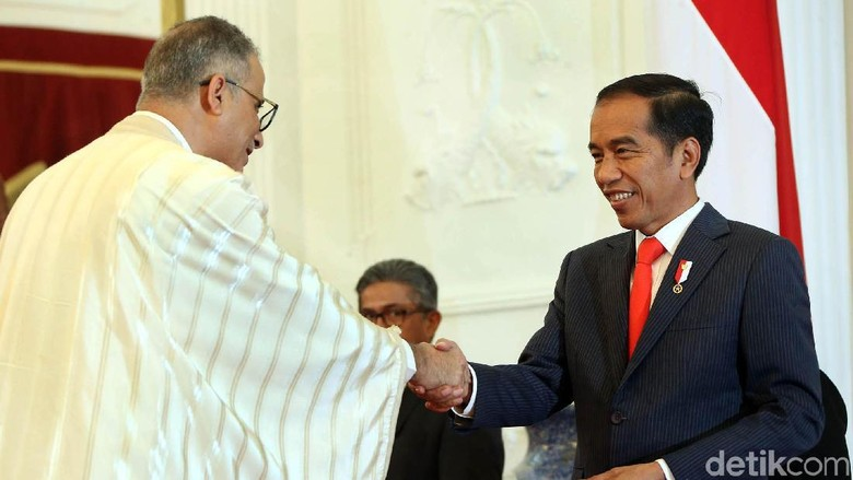11 Dubes Serahkan Surat Tugas ke Presiden Jokowi