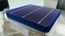 Intip Tempat Pembuatan Panel Solar untuk Lampu Jalan