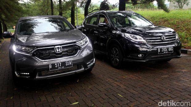 Honda CR-V dan DFSK Glory 580