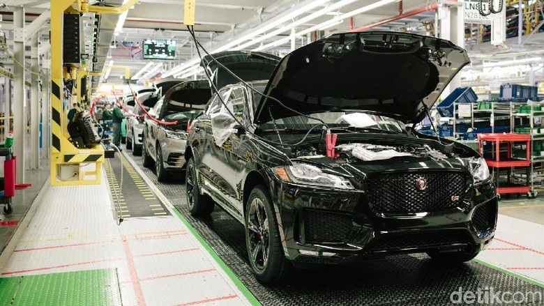 Pabrik Jaguar di Solihull