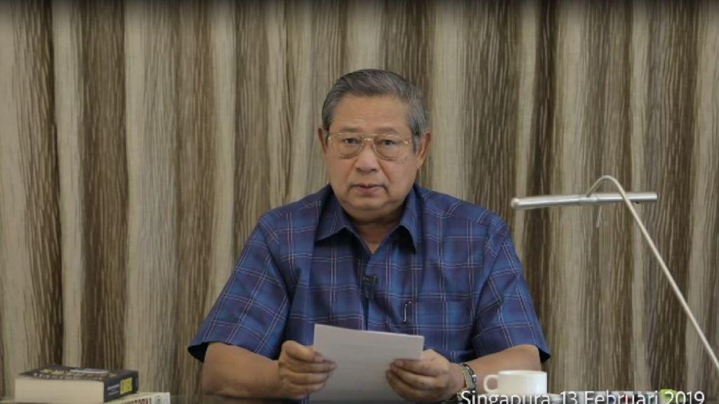 SBY: Saya Bisa Jawab Agum Gumelar, tapi Tidak Bijaksana