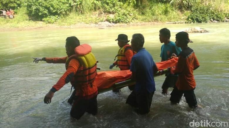 Hilang Sejak Kemarin, Kirman Tewas Tenggelam di Sungai Luk Ulo Kebumen