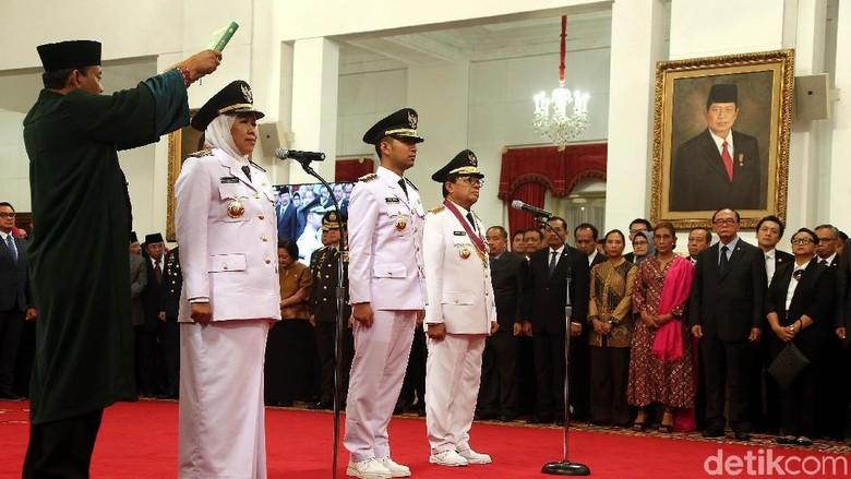 Sah! Khofifah Jadi Gubernur Jawa Timur