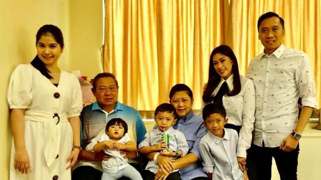 Dukungan Sang Menantu untuk Kesembuhan Ani Yudhoyono