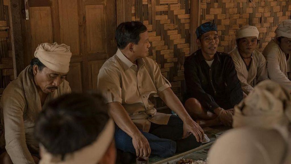 Saat Prabowo Bertemu Suku Baduy Dalam
