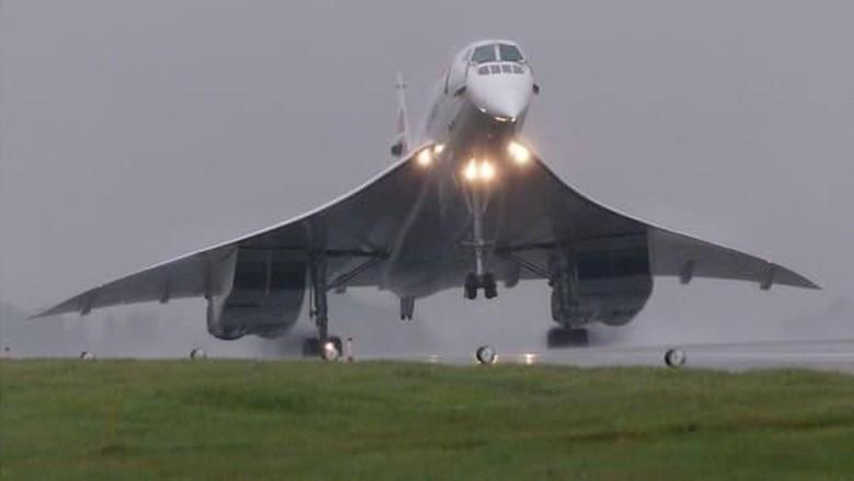 Alpha Foxtrot (model Concorde terakhir) (Reuters/CNN Travel)