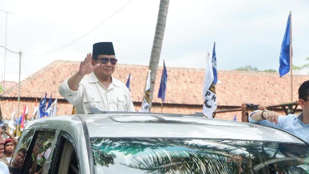 Prabowo: Sistem Ekonomi Sekarang Sudah Menyimpang dari UUD 45