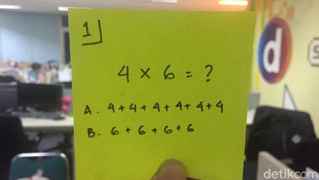 Soal-soal MatematikaIni Simpel Tapi Dijamin Bisa Bikin Otak Kusut