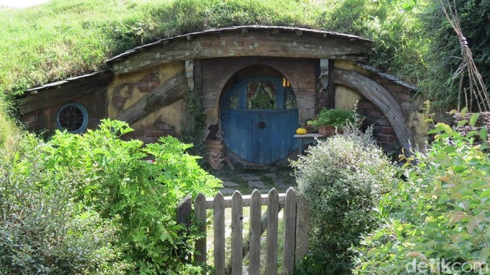 Rumah Hobbit Asli di Selandia Baru