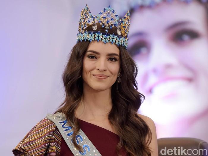 Miss World 2018 Silvia Vanessa Ponce de Leon saat berkunjung ke Indonesia beberapa waktu lalu. (Foto: Noel/detikFoto)