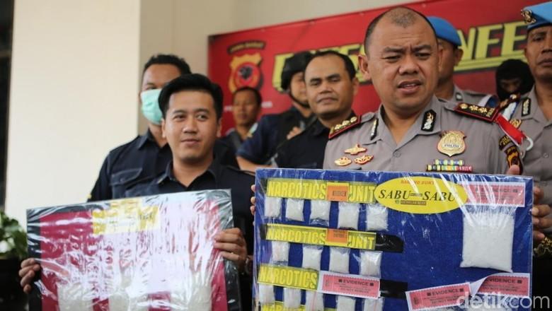 Sabu Produksi Pabrik Rumahan di Bogor Ternyata Oplosan