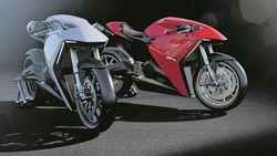 Ducati Pamer Desain Motor Listrik