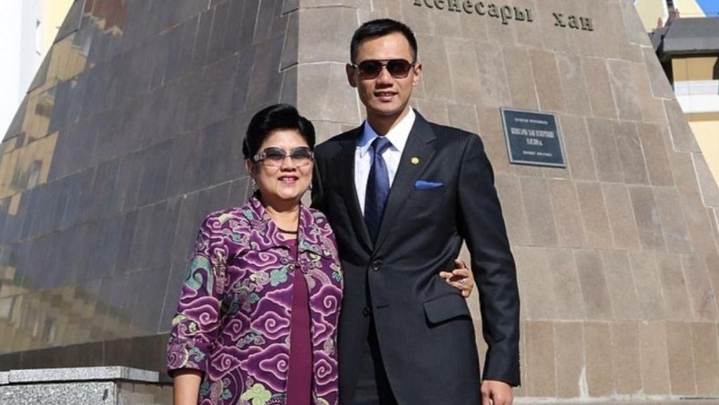 AHY Sebut Ani Yudhoyono Kini Fokus Kemoterapi untuk Hancurkan Kanker Darah