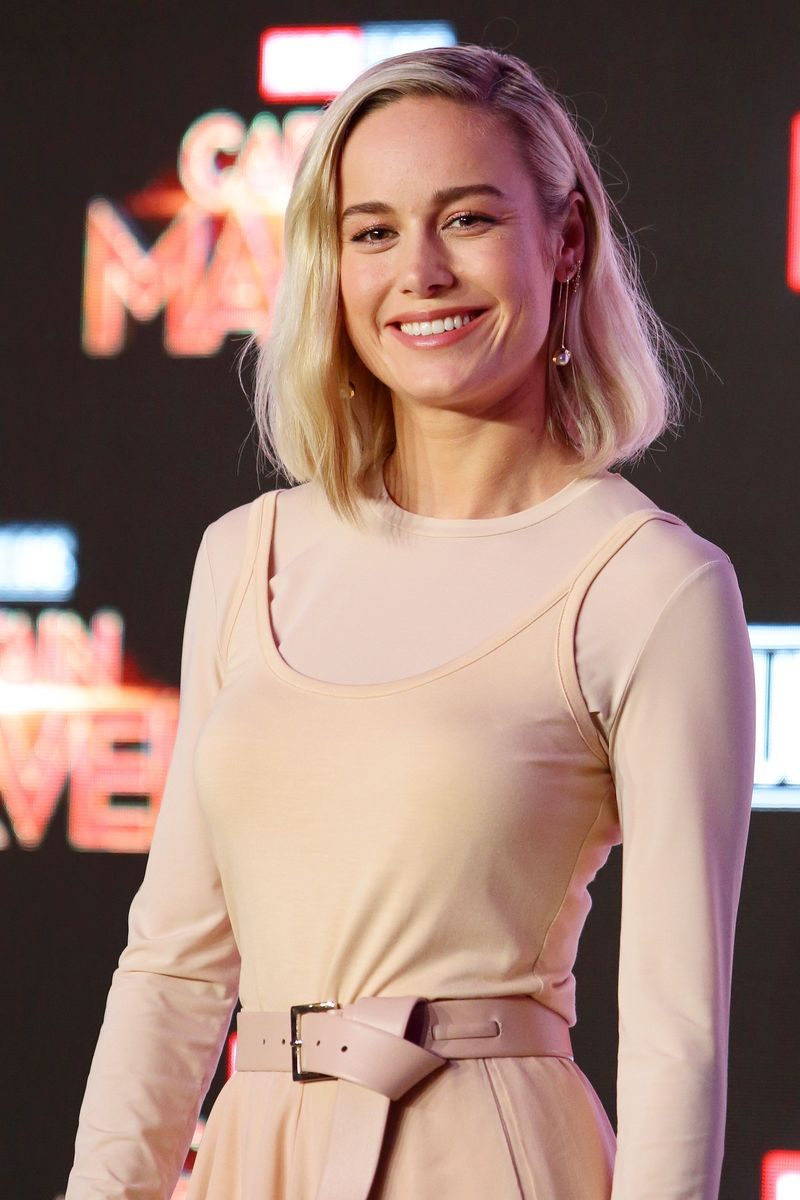 Film Captain Marvel yang baru saja rilis menarik perhatian mata traveler bukan? Ini dia pemeran karakter Captain Marvel, Brie Larson. (Suhaimi Abdullah/Getty Images)