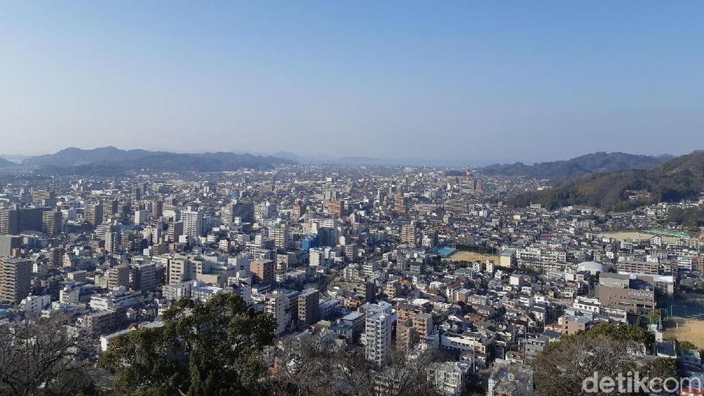 Gaet Turis, Kota Matsuyama di Jepang Lakukan Hal Ini