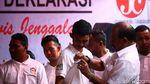 Salam Satu Jari, JALA Dukung Jokowi-Maruf Amin