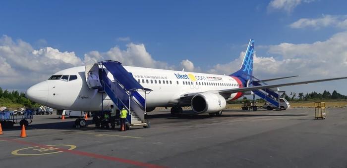 Pesawat Sriwijaya Air. Foto: Dok. AP II