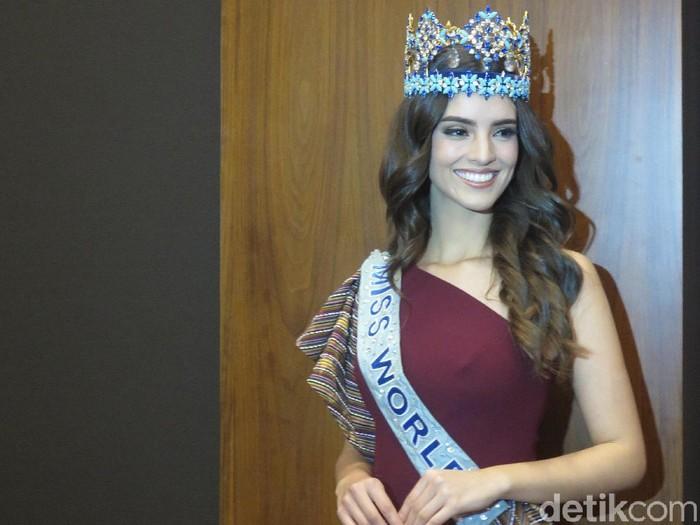 Miss World 2018 Vanessa Ponce de Leon di Jakarta. Foto: Anggi/Wolipop