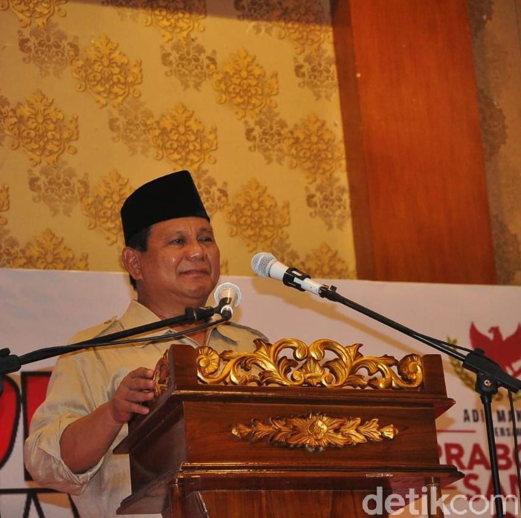 Sandiaga: Prabowo Kuasai Topik Infrastruktur, Pangan, Energi dan SDA