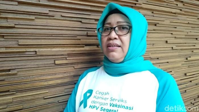 Endang, survivor kanker serviks (Foto: Widiya Wiyanti/detikHealth)