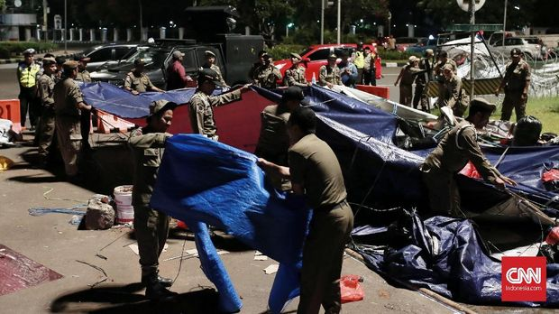 Ditangkap Usai Demo Istana, Aksi Pegawai Papua Gruduk Polda