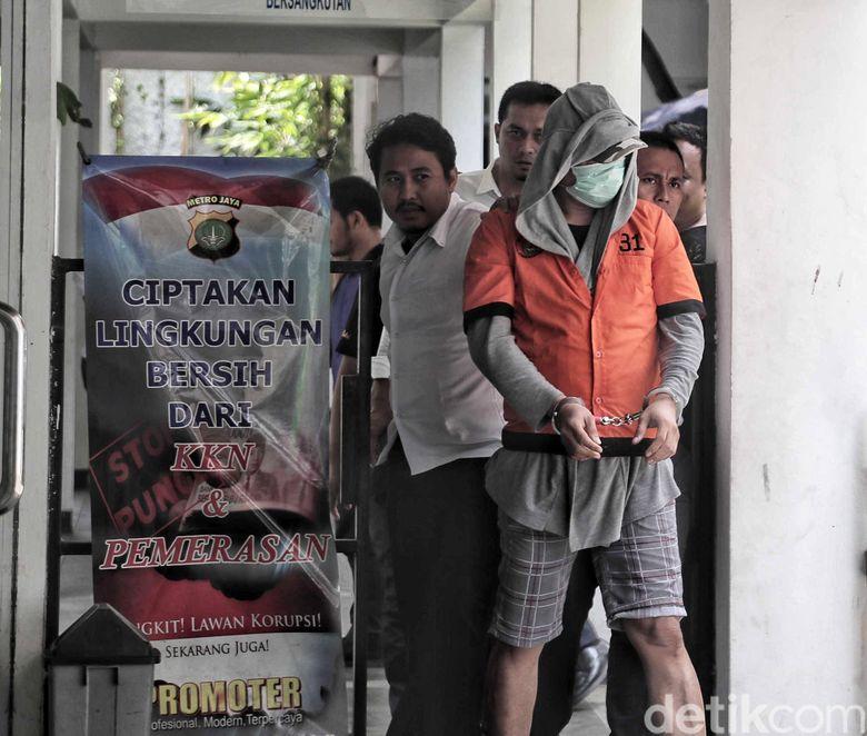 Jupiter Fortissimo saat ditemui di Polda Metro Jaya pada Kamis (14/2).