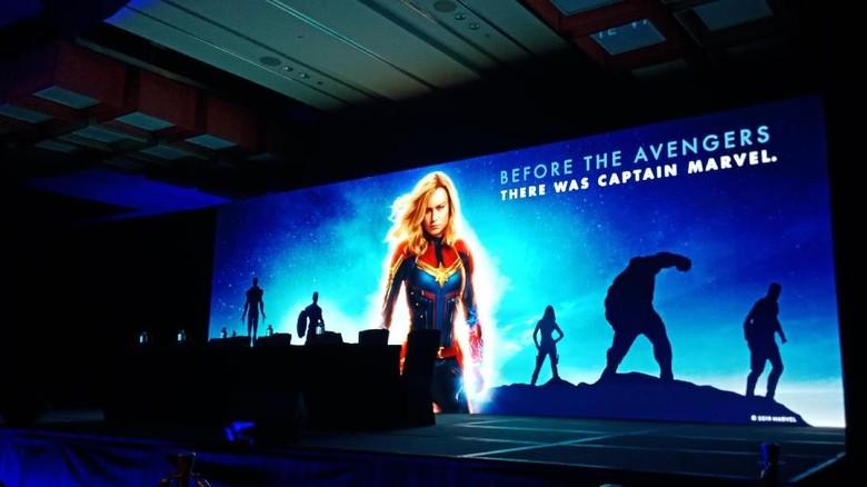 Siap Seru-seruan Bareng Captain Marvel di Hari Valentine Ini?