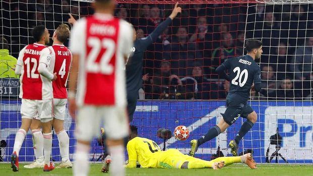 Marco Asensio menjadi penentu kemenangan Madrid atas Ajax.