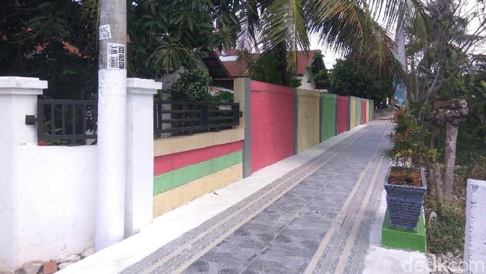 Foto: Sebanyak 35 desa di Banda Aceh yang dulunya kumuh diubah menjadi wisata yang menarik (Agus Setyadi-detikcom).