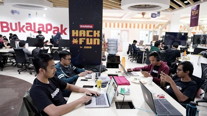 Ilustrasi kantor Bukalapak. Foto: dok. Bukalapak