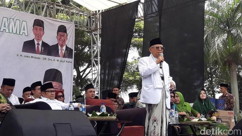 Maruf Amin: Ada yang Bilang Saya Jadi Alat, Ente Jangan Sembarangan!