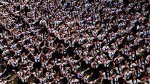 Begini Cara Ribuan Siswa di Filipina Rayakan Valentine Day