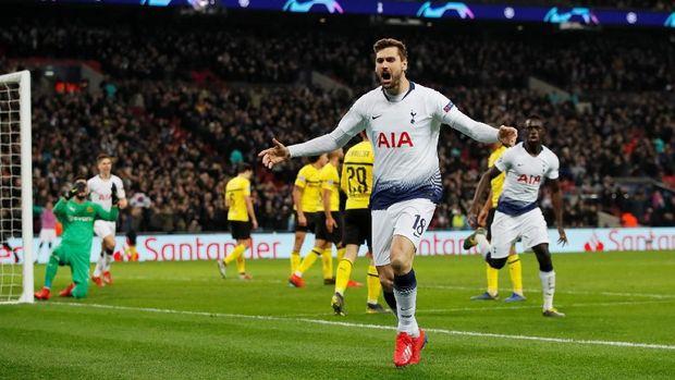 Tanpa diduga Tottenham singkirkan Dortmund.