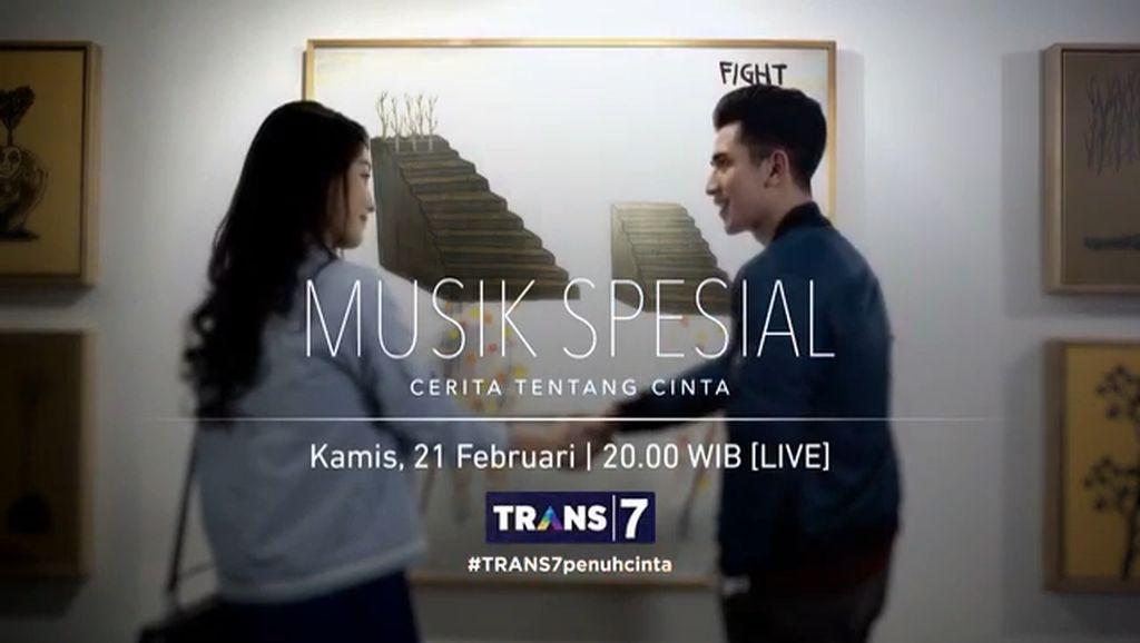 Penggemar Tak Sabar Saksikan Musik Spesial: Cerita Tentang Cinta