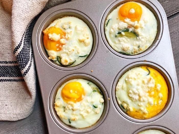 ragam telur panggang untuk sarapan spesial