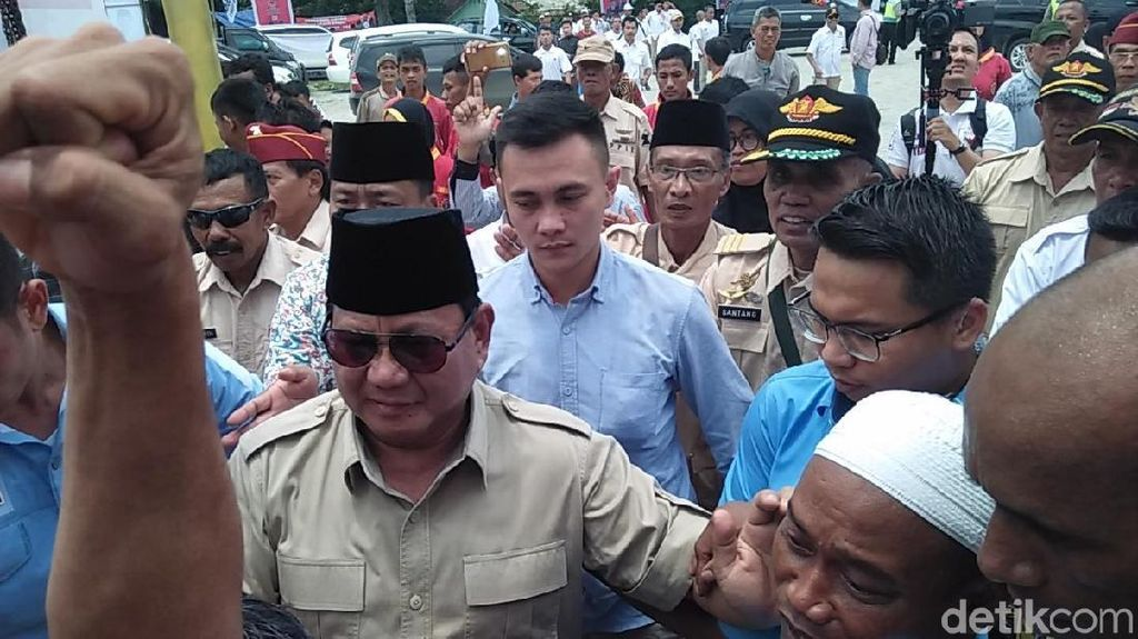 Mau Naikkan Gaji PNS TNI/Polri, Prabowo: Agar Tak Bisa Disogok