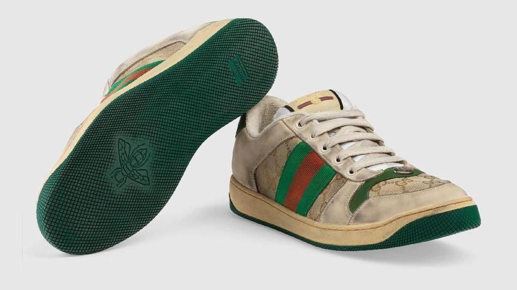 Gucci Rilis Sneakers Kotor dan Lecet Seharga Rp 12 Juta