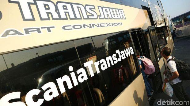 Bus Scania Trans Jawa